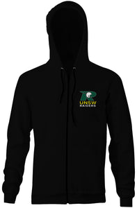 UNSW Raiders Double Sided Zip Logo Hoodie