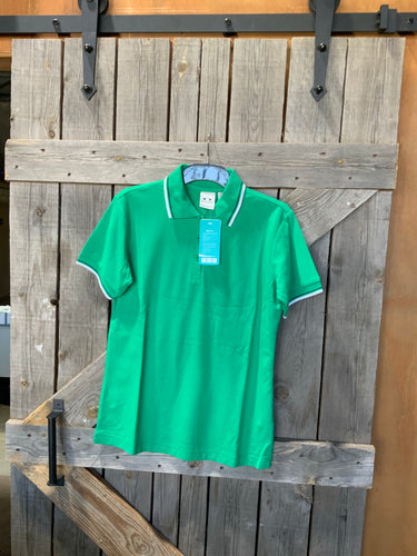 Biz collection green ladies polo