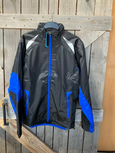 Grace collection jacket black and blue