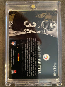 Jerome Bettis Gold Strike Signed Trading Card
