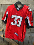 NFL Replica Falcons On-field Turner (33) Jersey