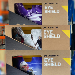 Custom Designed Xenith Eye Shield