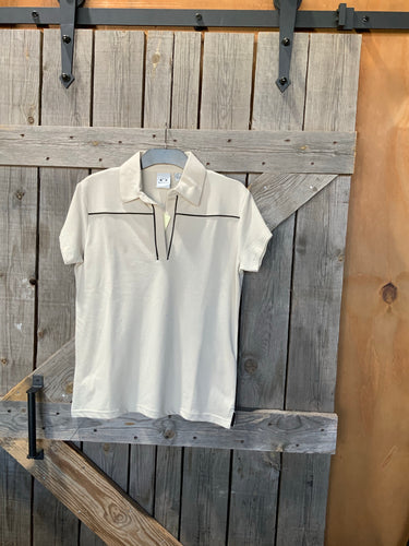 Biz collection cream ladies polo