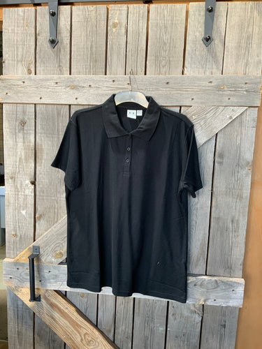 Biz collection black polo size 16 ladies