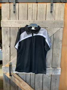 Biz collection ladies black and grey polo size 18