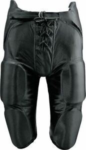 Martin 7 piece padded black game pants