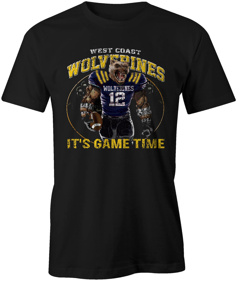 Wolverines It's Game Time T-Shirt
