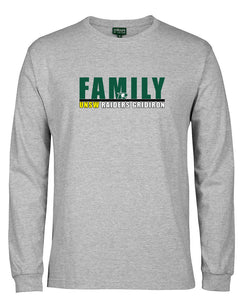 UNSW Raiders  Family Long Sleeved T-Shirt