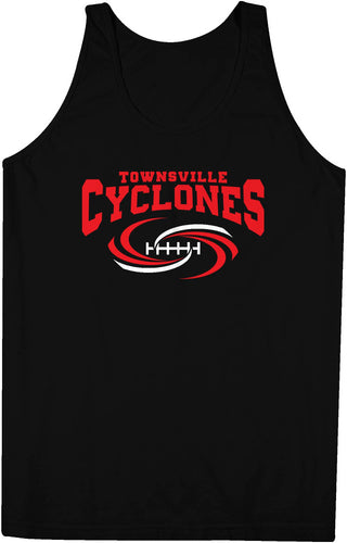 Townsville Cyclones Official Logo Team Singlet