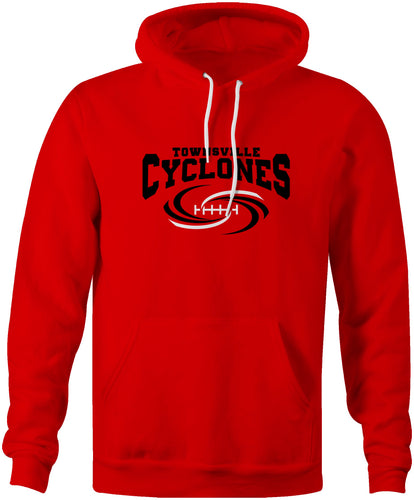 Townsville Cyclones Official Logo Team Hoodie Ltd Edition