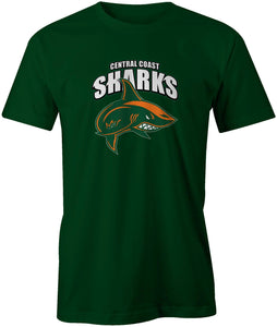 Central Coast Sharks Official Logo T-Shirt