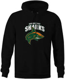 Central Coast Sharks Official Logo Hoodie