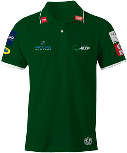 Custom Order Sublimated Jets Polo Shirt Pre-Order