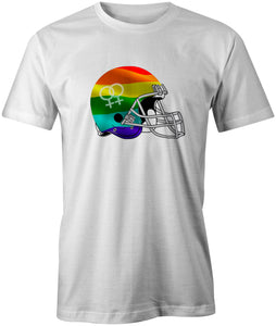Rainbow Helmet T-Shirt