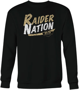 Raiders Football Sweatshirt