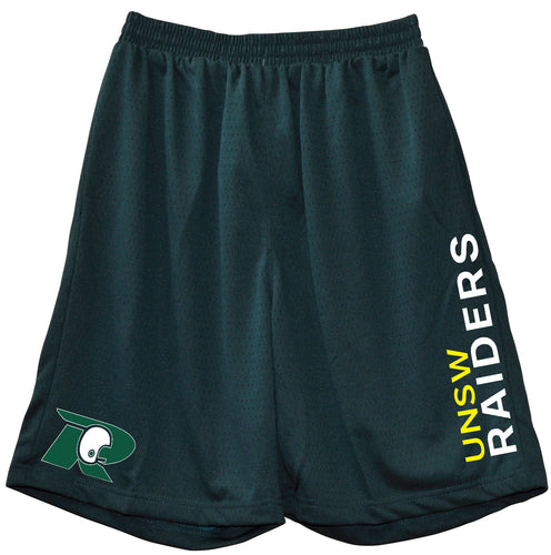 UNSW Raiders Basket ball Type Shorts