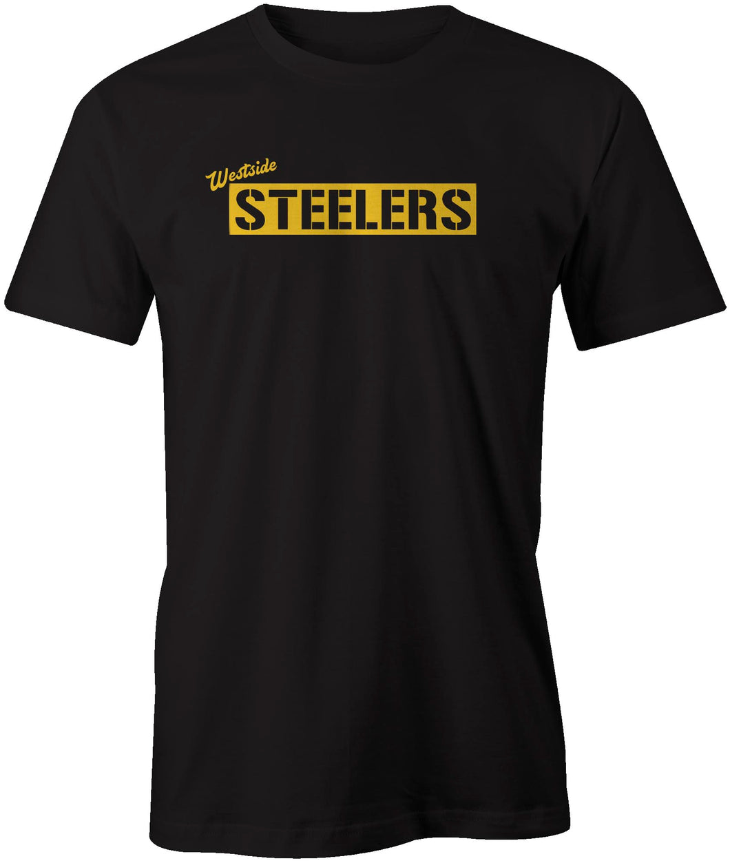 Westside Steelers Reverse Box Style T-Shirt