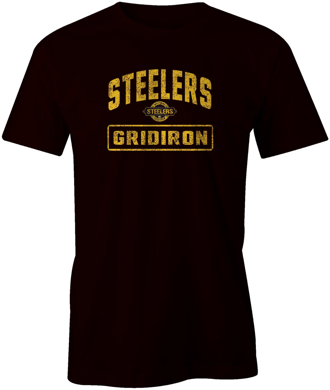 Westside Steelers Distressed Style T-Shirt