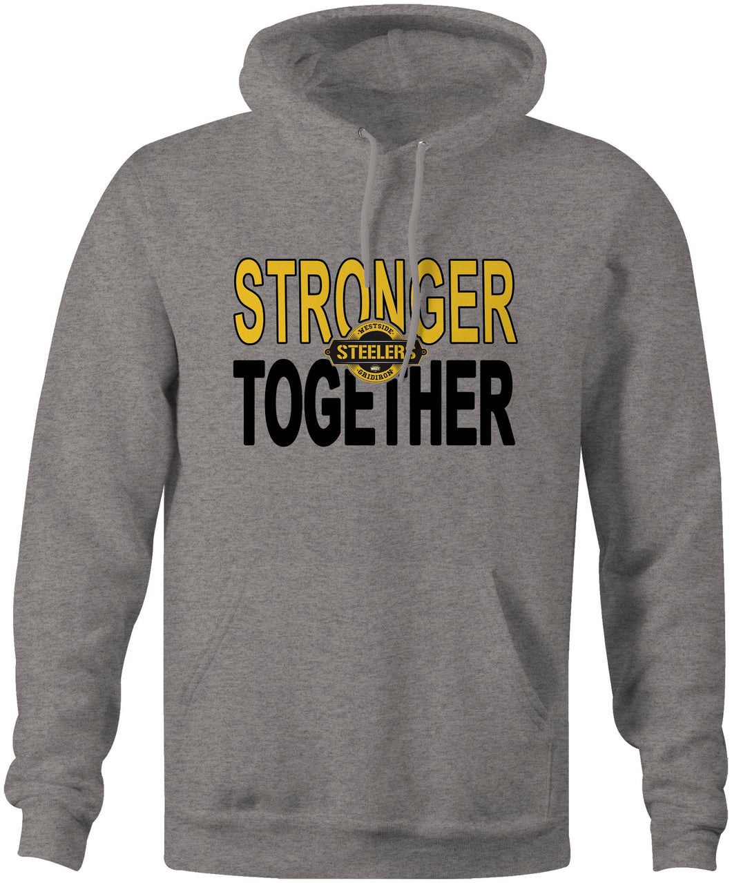 Westside Steelers Stronger Together Hoodie