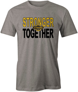 Westside Steelers Stronger Together T-Shirt