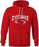 Townsville Cyclones Official Red Logo Team Hoodie