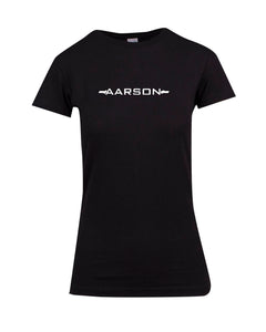Aarson Apparel Barbell Logo Ladies Premium T-Shirt