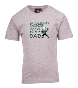 UNSW Raiders Favourite Dad T-Shirt