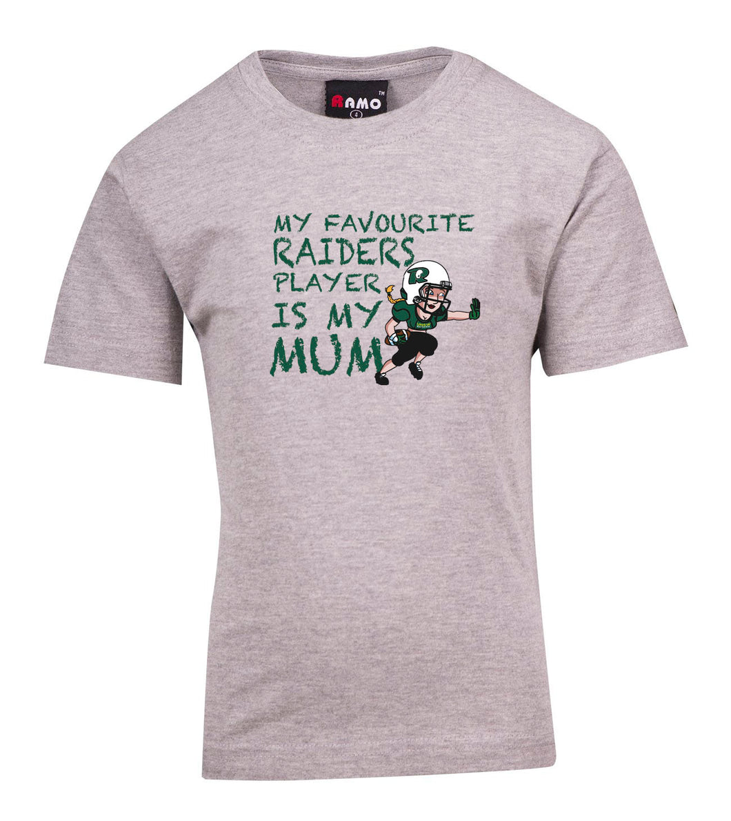 UNSW Raiders Favourite Mum T-Shirt