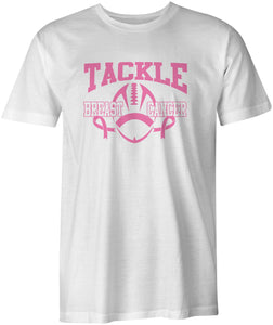 Tackle Breast Cancer T Shirt