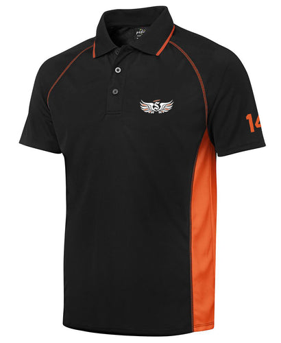 Curtin Saints 2020 Embroidered Players Polo Shirt