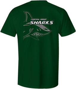 Central Coast Sharks Double Sided Warm Up T-Shirt
