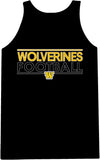 Wolverines Double Sided Print Singlet