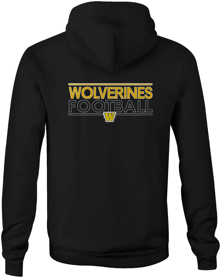 Double Sided Zipped Logo Hoodie