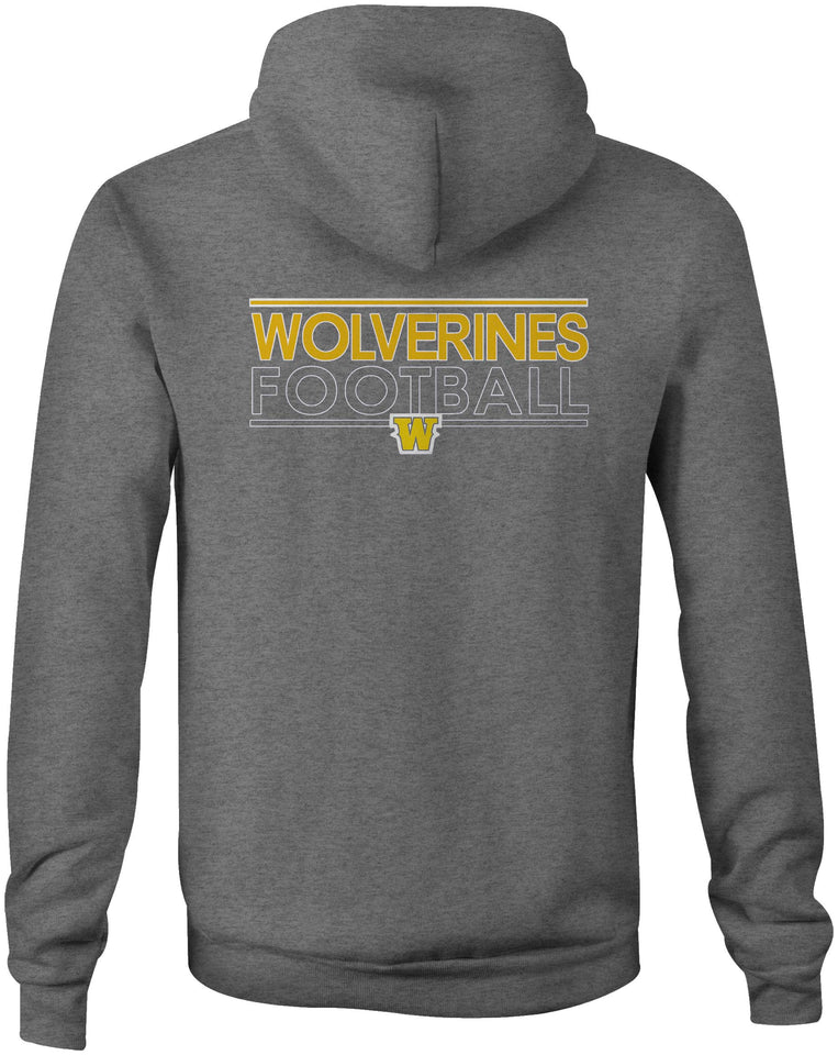 Wolverines Double Sided Logo Hoodie