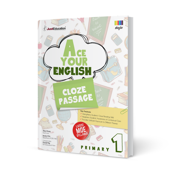 Ace Your English (Cloze Passage) - Primary 1