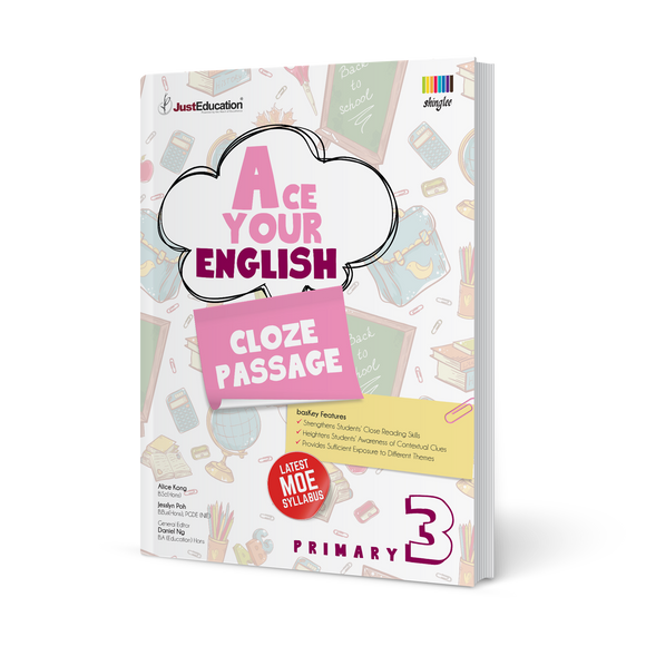 Ace Your English (Cloze Passage) - Primary 3