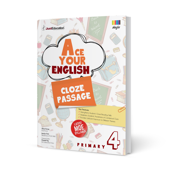 Ace Your English (Cloze Passage) - Primary 4