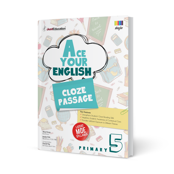 Ace Your English (Cloze Passage) - Primary 5