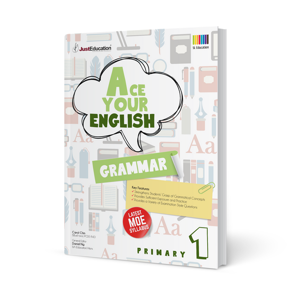 Ace Your English (Grammar) - Primary 1
