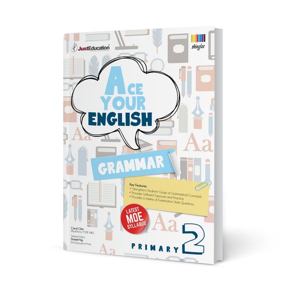 Ace Your English (Grammar) - Primary 2