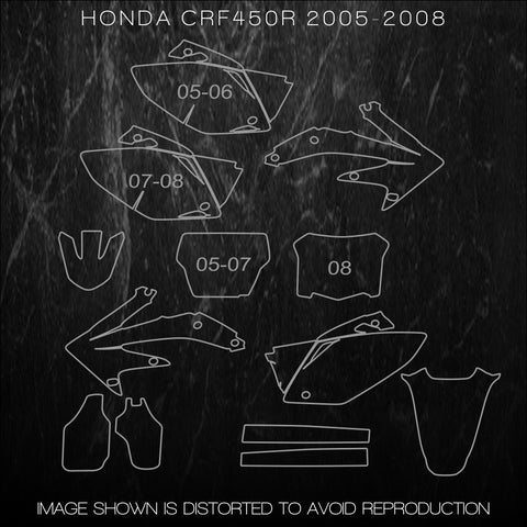 Dirtbike Templates – Accurate Templates