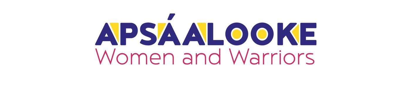 Apsáalooke: Women and Warriors Exhibition Logo
