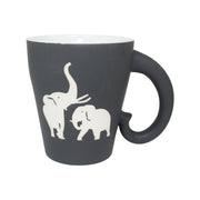 Field Museum Fighting Elephants Trunk Mug | Field Museum Store