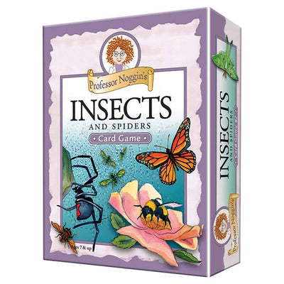 Professor Noggin Insects & Spiders Card Game | Field Museum Store