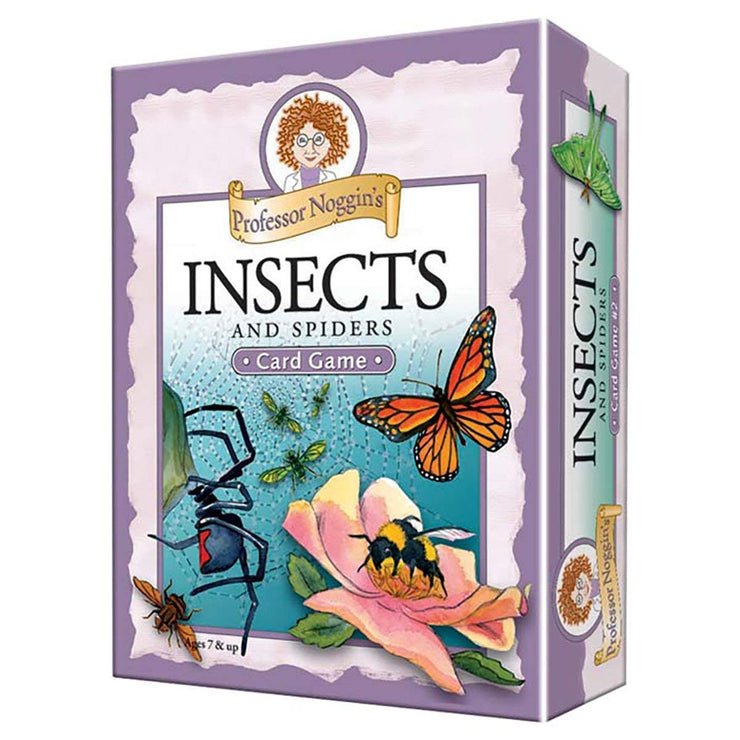 Insects & Spiders Card Game | Field Museum Store