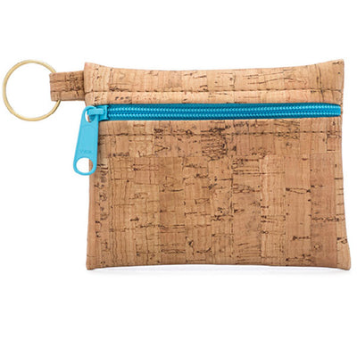 Cork Key Chain Zip Pouch | Field Museum Store