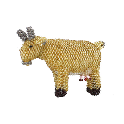 Zuni Beaded Goat | Field Museum Store