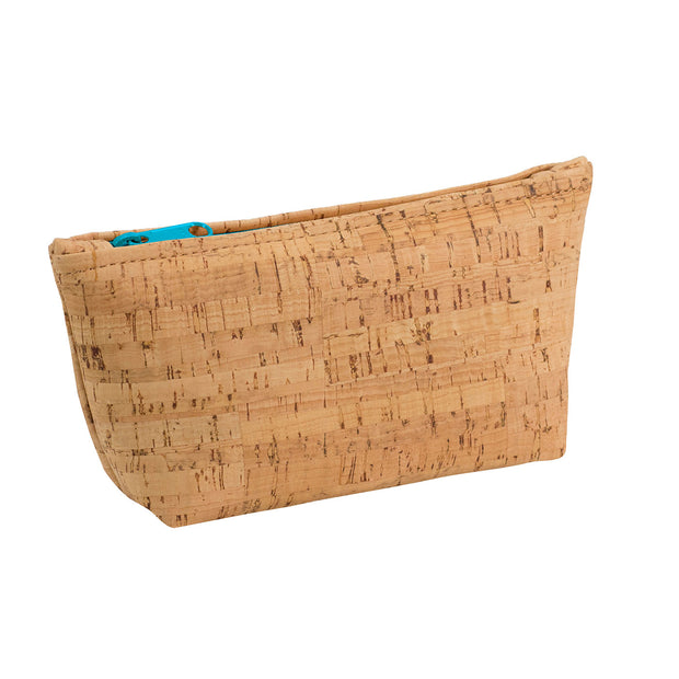 Medium Cork Zip Pouch | Field Museum Store