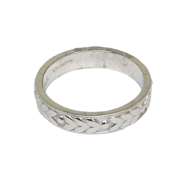 Ellie Thompson 4mm Wedding Band | Field Museum Store