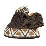 Small Brown Parrot Embera Mask | Field Museum Store
